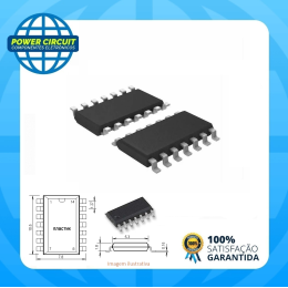 CIRCUITO INTEGRADO 74HC164 SMD SOIC-14 ON SEMI - Código: 11886