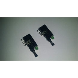 Switch Push Button Com Led Verde Pacote Com 10pcs