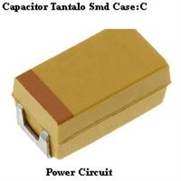 T494C476M010AT CAPACITOR TANTALO SMD 47UF/10V CASE C  20% LOW ESR  KEMET - Código interno:8796